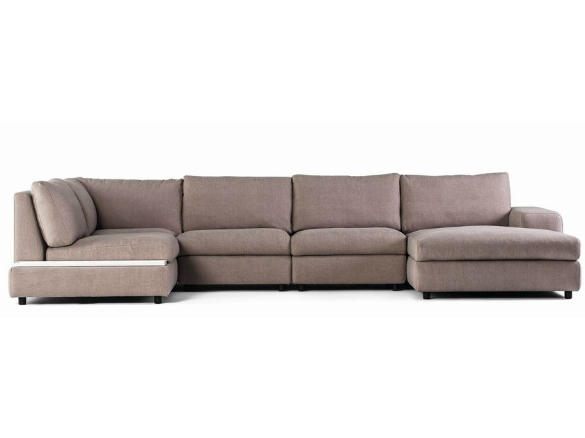 Sectional modular fabric sofa AKORD by prostoria Ltd