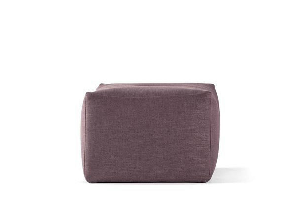 Upholstered fabric pouf EASY | Pouf by prostoria Ltd