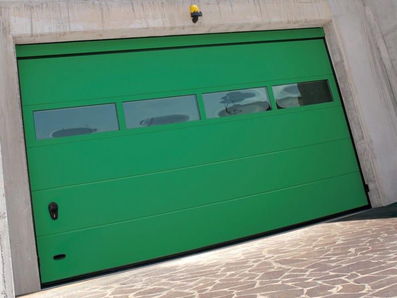 Galvanized steel garage door PRS RL42 | Garage door by Bremet
