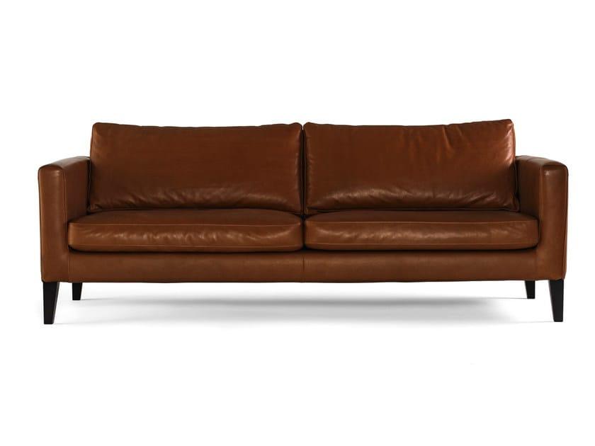 Leather Sofa ELEGANCE | Leather Sofa By Prostoria