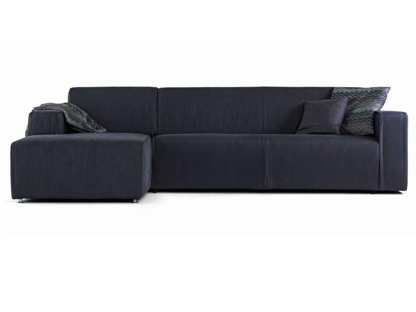 Corner fabric sofa bed NIMBLE | Sofa bed by prostoria Ltd