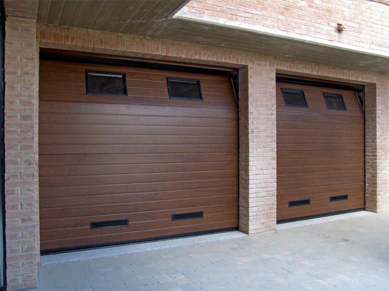 Galvanized steel garage door CPS RL42   Garage door by Bremet