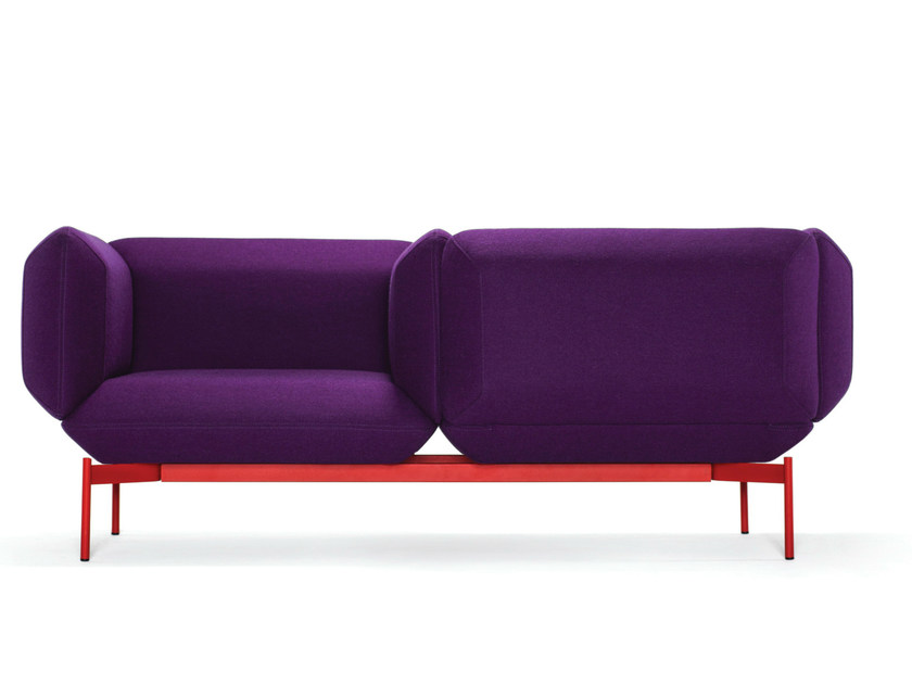 2 seater fabric sofa SEGMENT   Sofa by prostoria Ltd