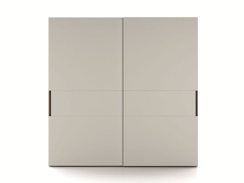 Lacquered wardrobe with sliding doors EMOTION SCORREVOLE 5 by Dall'Agnese
