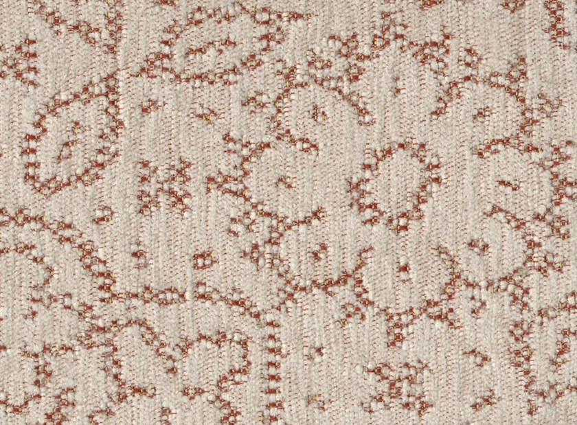Viscose and cotton fabric with floral pattern HAMEAU DU MIDI by KOHRO