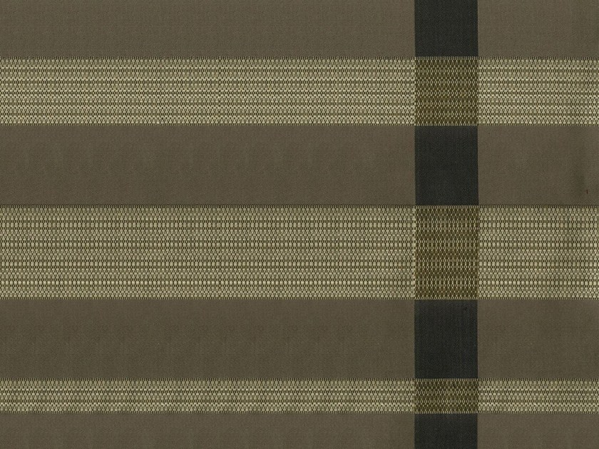Striped cotton fabric GLAM RODEO DRIVE by KOHRO