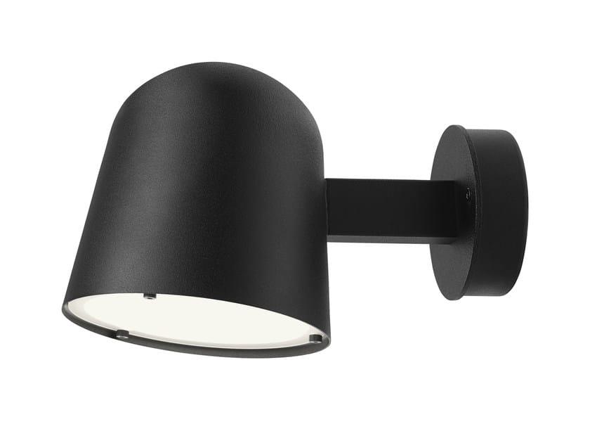 Lampada da parete a LED in acciaio CONVEX | Lampada da parete by ZERO