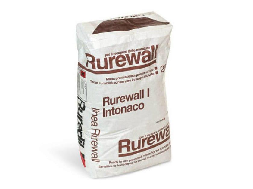 Dehumidifying plaster RUREWALL® I INTONACO by RUREDIL