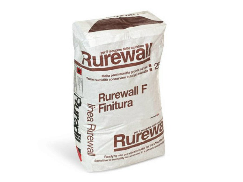 Dehumidifying plaster RUREWALL® F FINITURA by RUREDIL