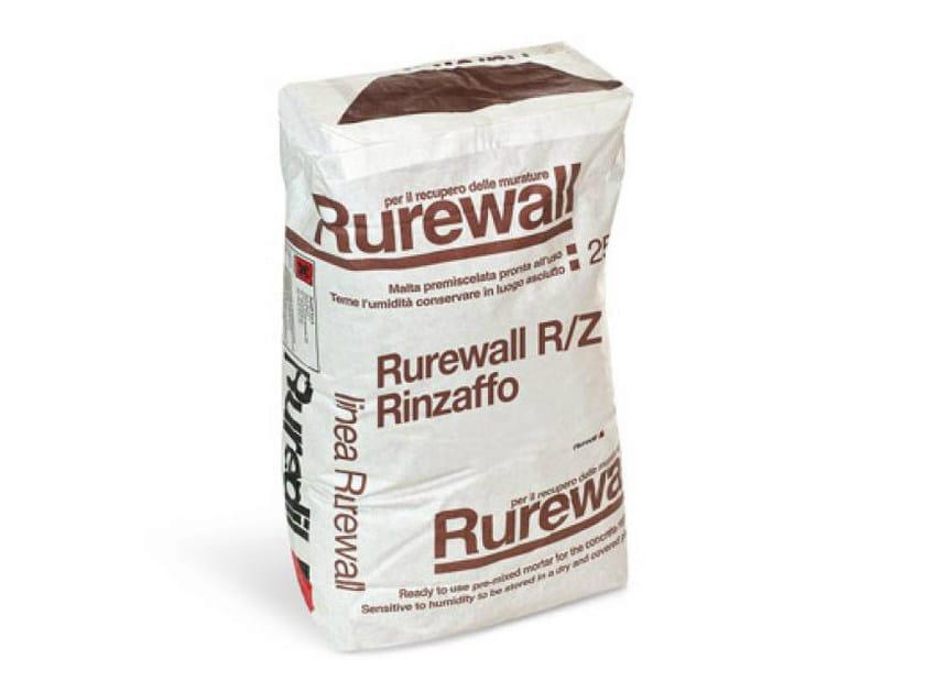Dehumidifying plaster RUREWALL® R/Z RINZAFFO by RUREDIL