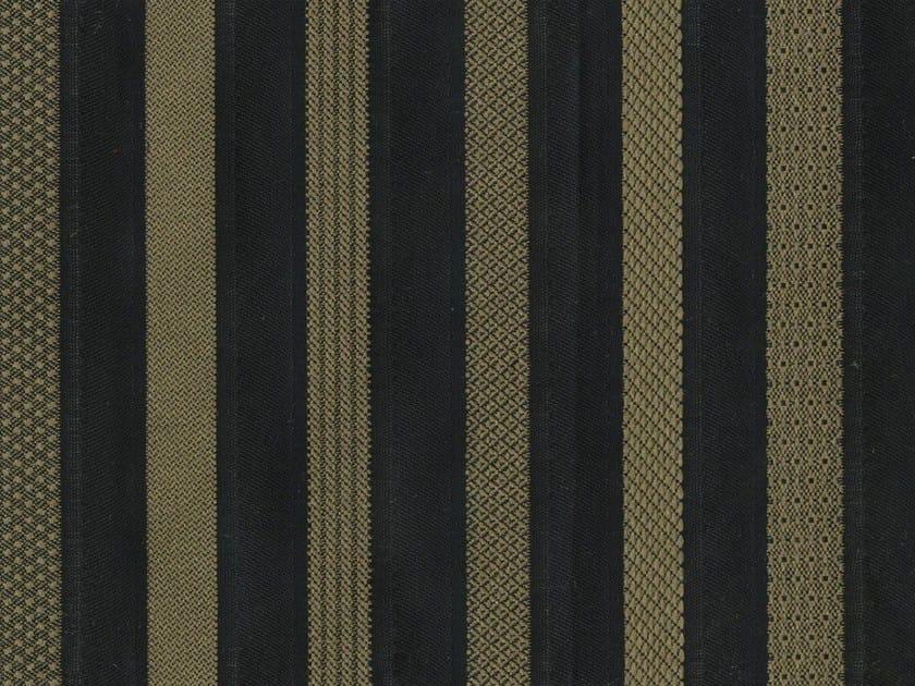 Striped washable fabric CARACALLA by KOHRO