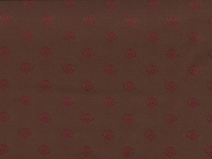 Washable fabric with graphic pattern DARJEELING GARDEN by KOHRO