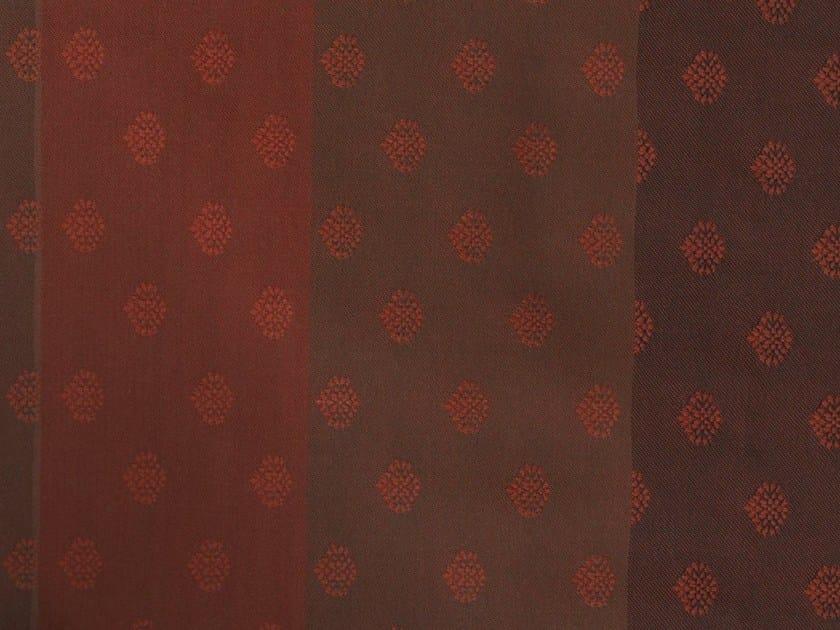 Jacquard fabric with graphic pattern DARJEELING PARK 1 by KOHRO