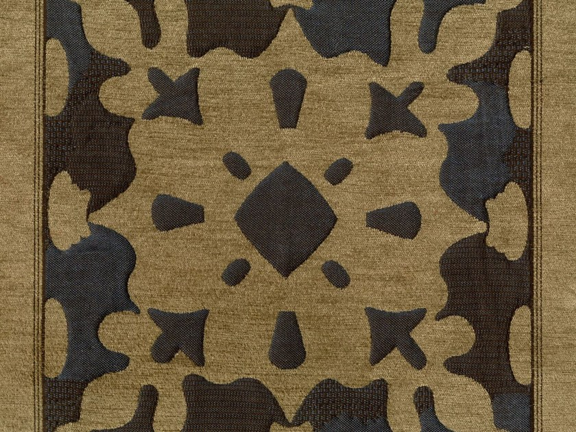 Cotton fabric with graphic pattern RIO GRANDE by KOHRO