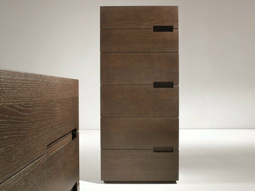Oak chest of drawers ASOLA | Oak chest of drawers by Dall'Agnese