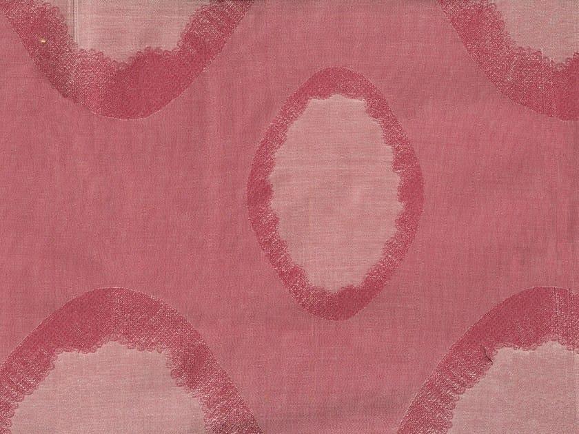 Cotton fabric with graphic pattern CELESTIA by KOHRO