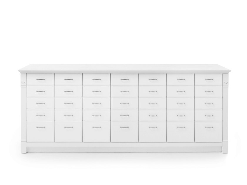 Solid wood chest of drawers ENGLISH MOOD | Chest of drawers by Minacciolo