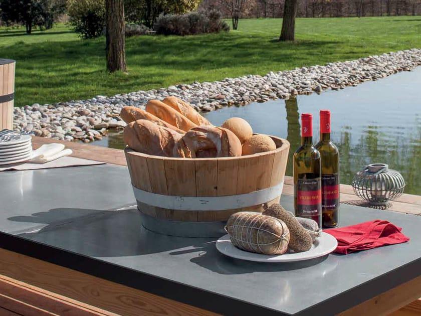 Wooden bread bin CATÌ | Bread bin by Minacciolo