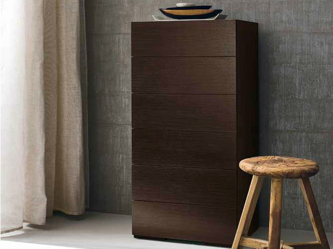 Oak chest of drawers PARIS | Chest of drawers by Dall'Agnese