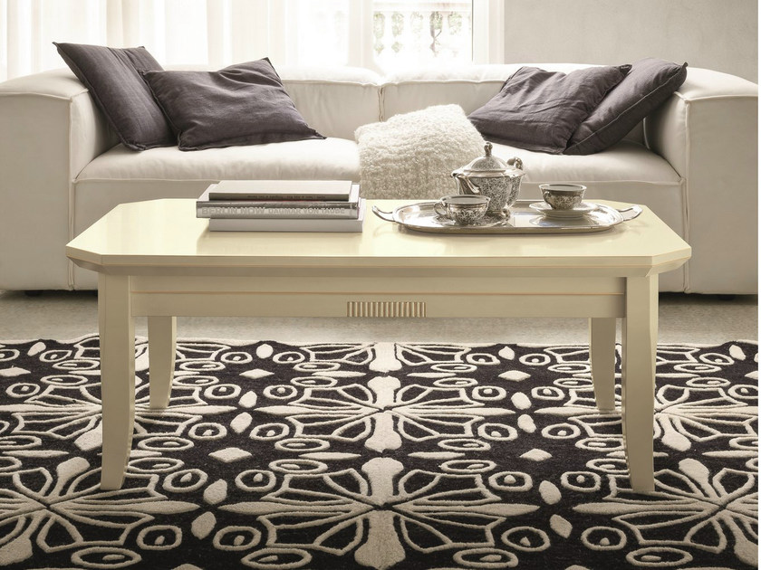 Low lacquered coffee table for living room TIFFANY | Lacquered coffee table by Dall'Agnese