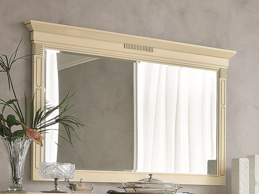Rectangular framed mirror TIFFANY | Mirror by Dall'Agnese