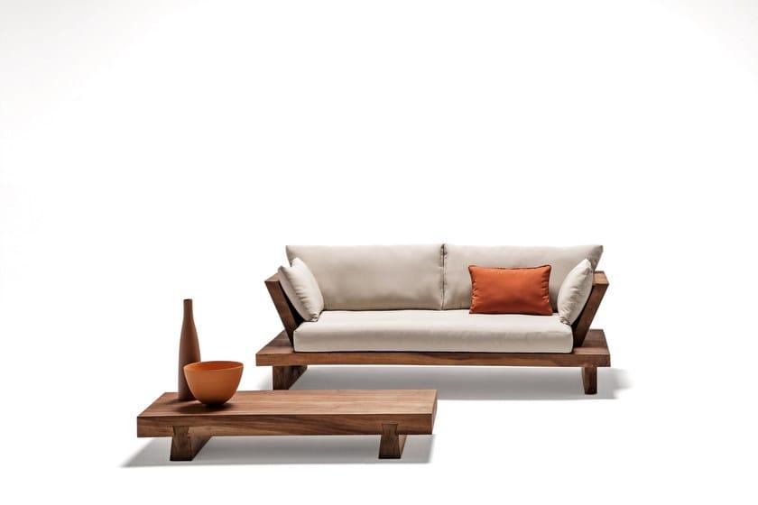 Divano in legno massello SUAR | Divano - Il Giardino di Legno