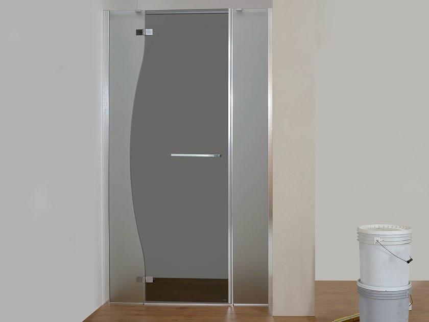 Niche glass shower cabin CHIAROSCURO | Niche shower cabin by MEGIUS