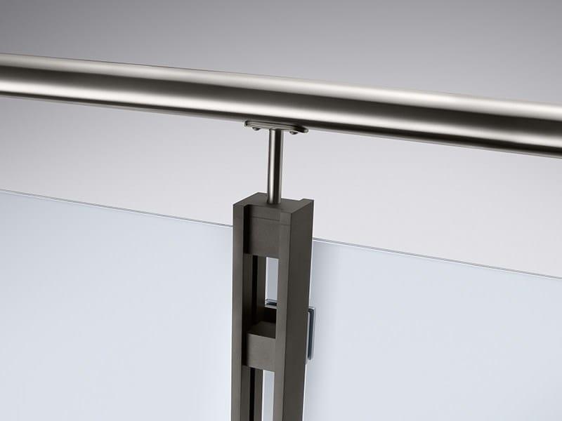 Parapetto in alluminio DUO LINE by Q-RAILING ITALIA