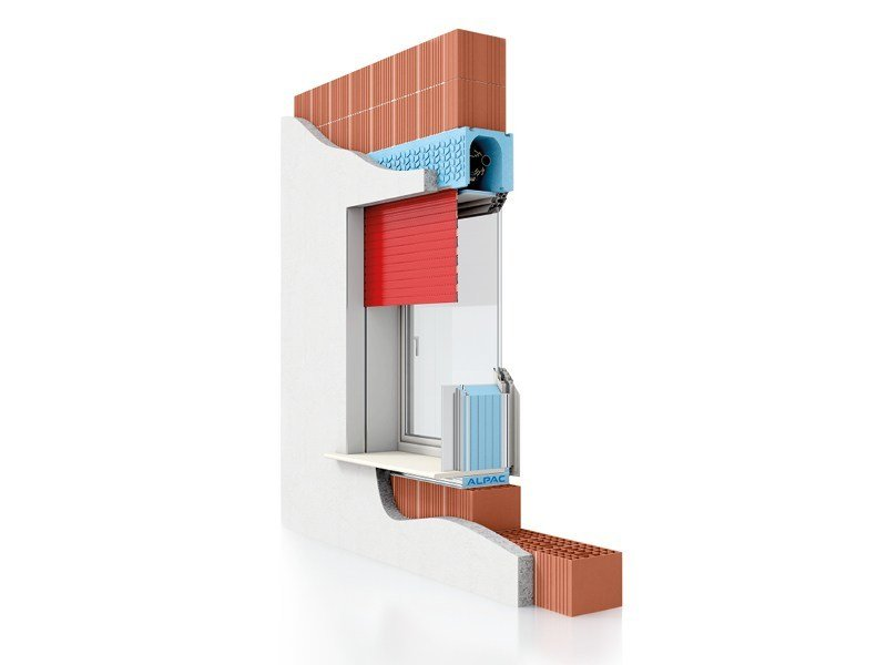 Integrated window system PRESYSTEM Avvolgibile by Alpac