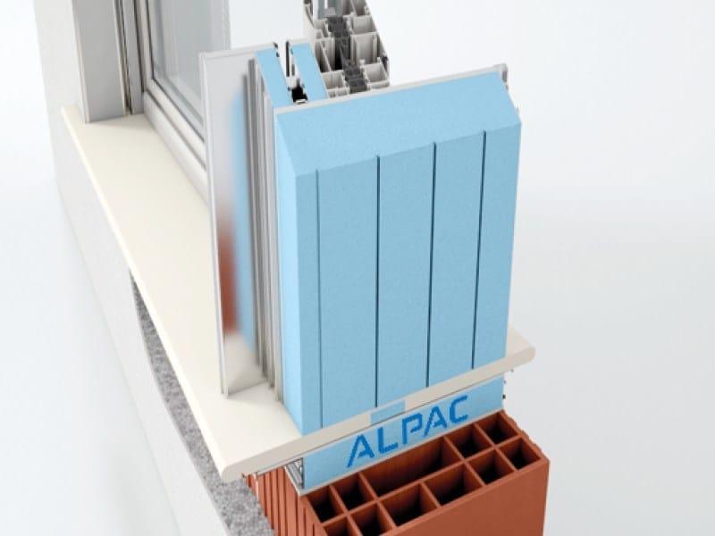 Monoblocco per foro finestra con sistemi frangisole presystem frangisole by alpac - Finestre monoblocco con avvolgibile ...