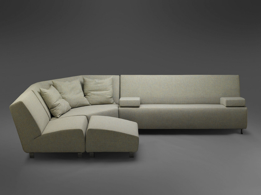 Sectional fabric sofa BLONDY | Sectional sofa by mminterier