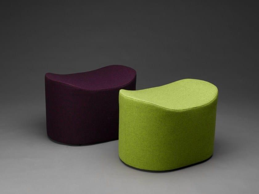 Fabric pouf EPSI by mminterier