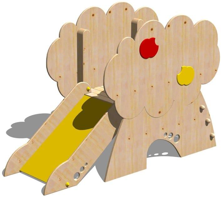 Wooden Slide TORRE MELO by Legnolandia