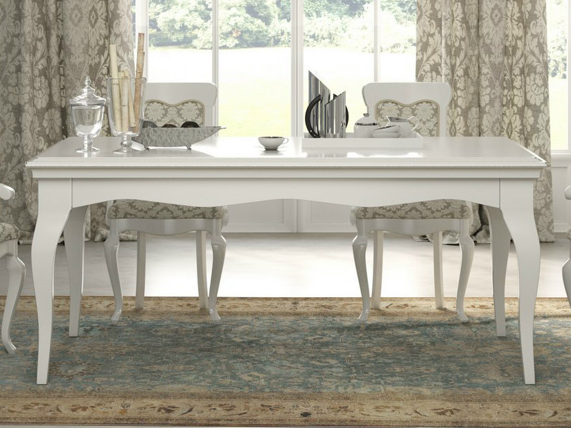 Lacquered rectangular table SYMFONIA | Lacquered table by Dall'Agnese