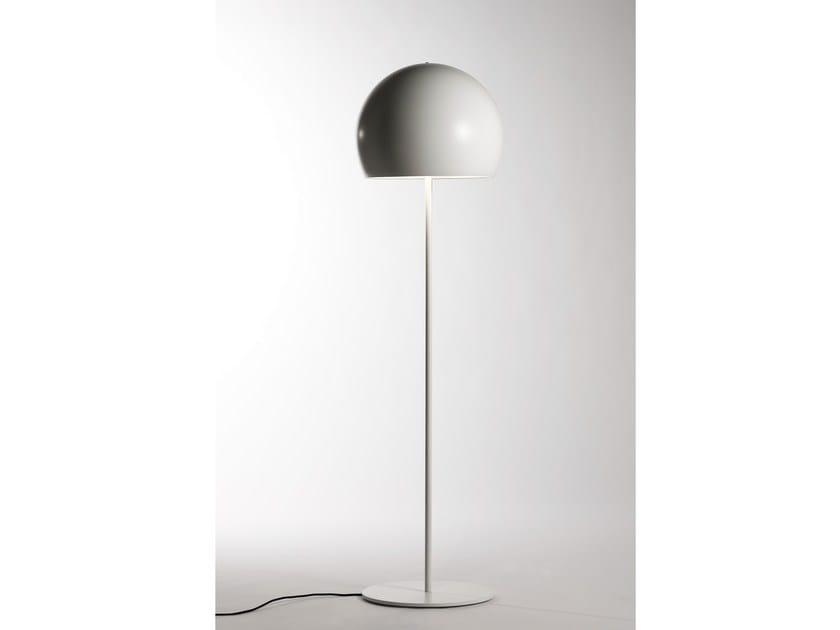 Direct light aluminium floor lamp LALAMPADA | Floor lamp by Opinion Ciatti