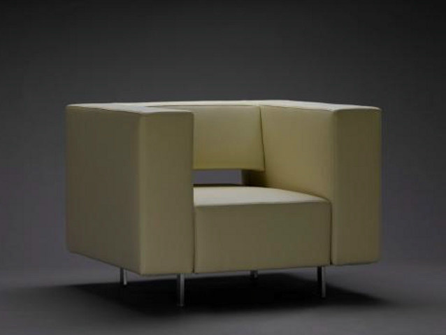 Club leather armchair HATT | Armchair by mminterier