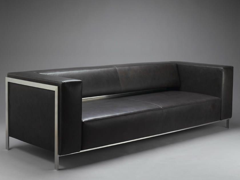 Leather sofa HATT | Sofa by mminterier