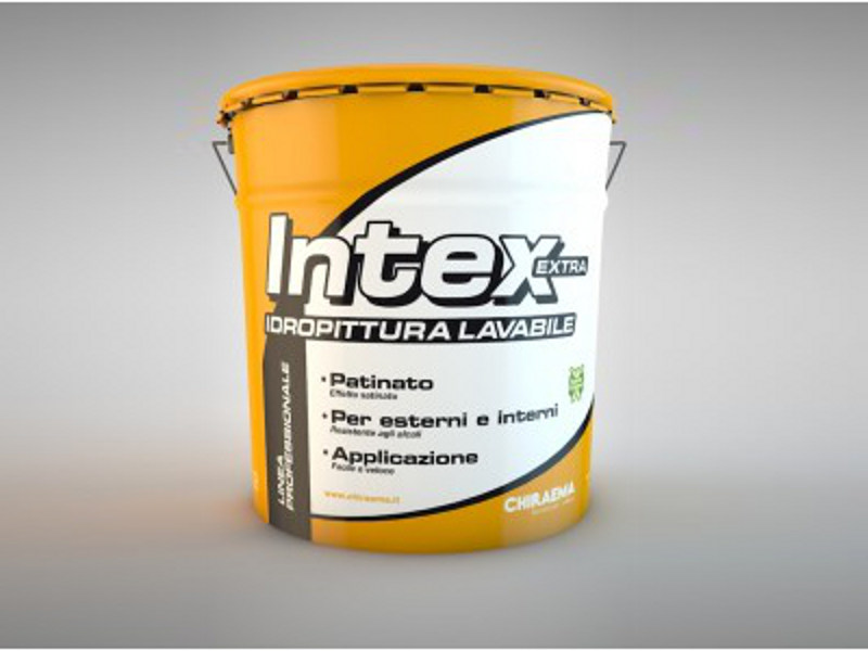 Washable water-based paint INTEX EXTRA by CHIRAEMA