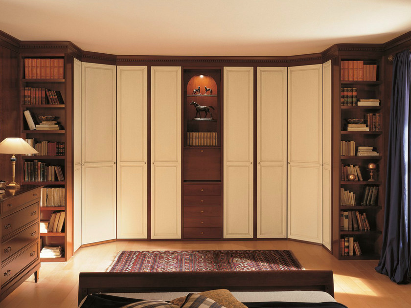 Lacquered wooden wardrobe custom UNICO | Lacquered wardrobe by Dall'Agnese