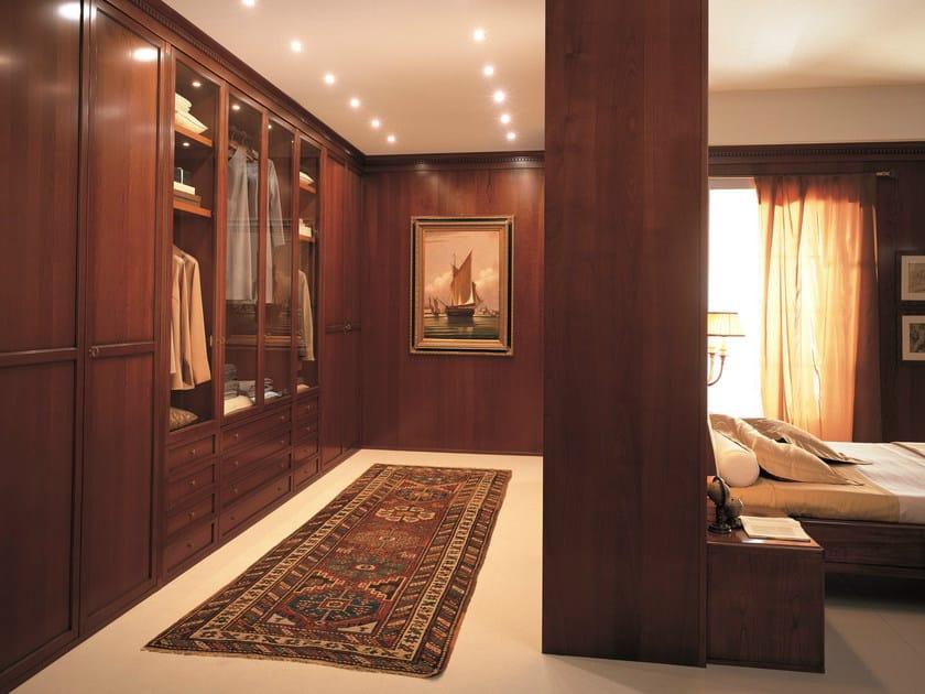 Wooden wardrobe custom UNICO | Wooden wardrobe by Dall'Agnese