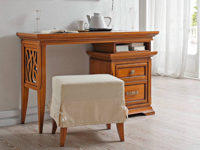 Cherry wood dressing table BOHEMIA | Dressing table by Dall'Agnese