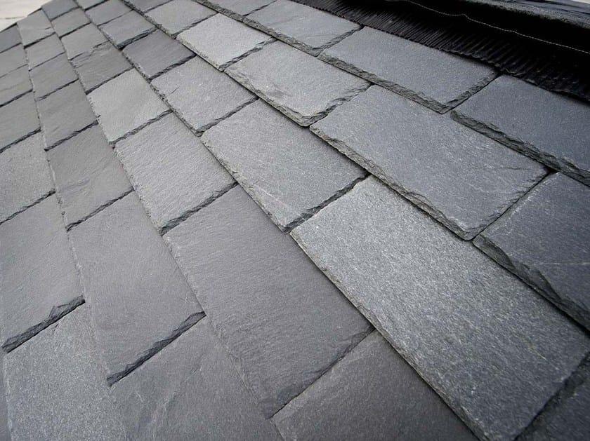 Slate pantile BRENVA | Slate roof tile by B&B Rivestimenti Naturali