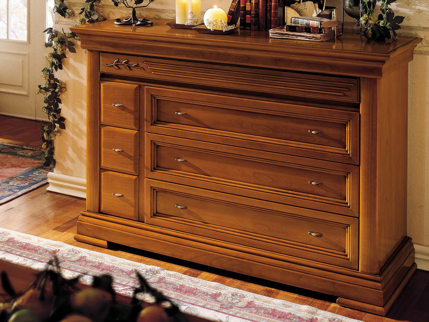 Cherry wood chest of drawers CHOPIN | Chest of drawers by Dall'Agnese