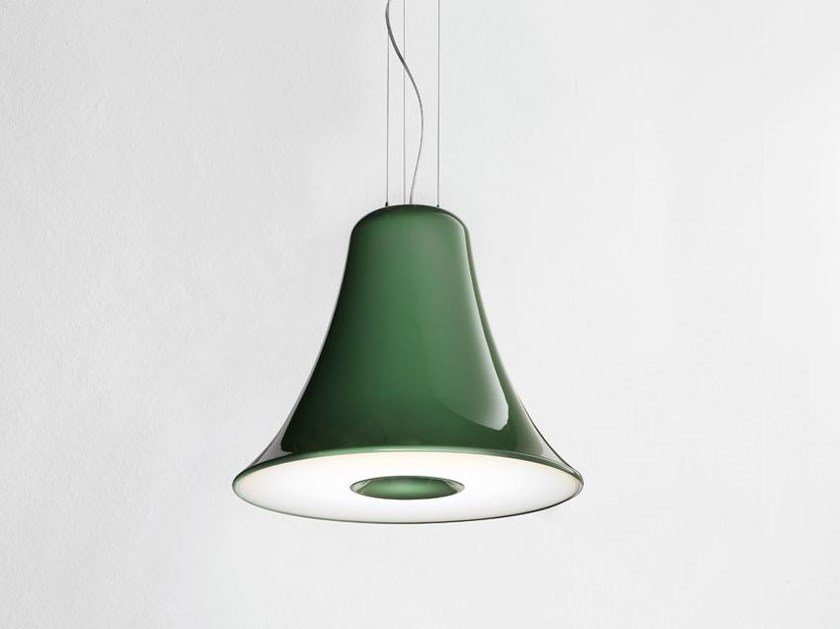 Polyurethane pendant lamp CAMPANA by Lucente