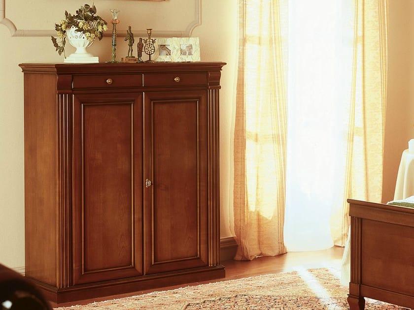 Low cherry wood wardrobe VENEZIA | Low wardrobe by Dall'Agnese