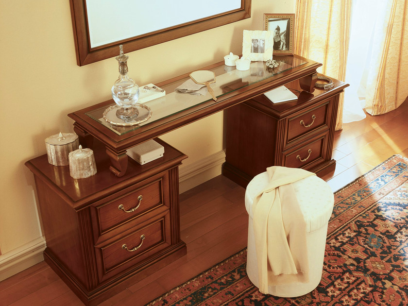 Cherry wood dressing table VENEZIA | Dressing table by Dall'Agnese