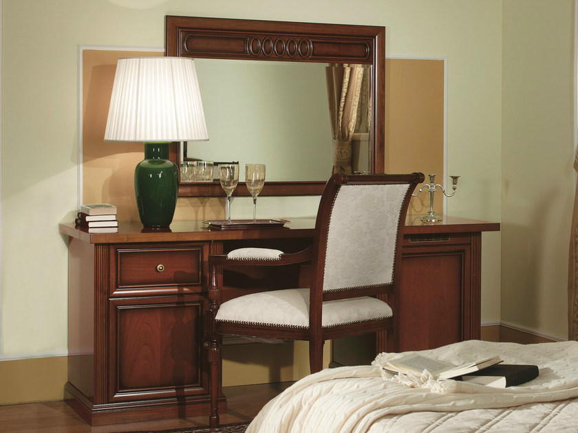 Cherry wood Hotel desk VENEZIA | Hotel desk by Dall'Agnese