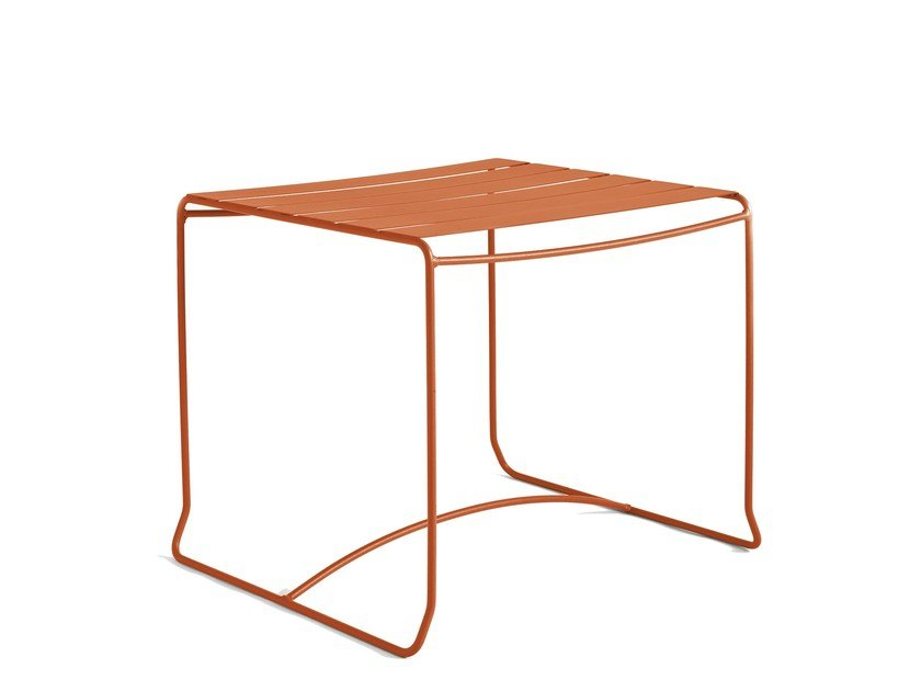 Square steel garden side table PORTOFINO | Coffee table by iSimar
