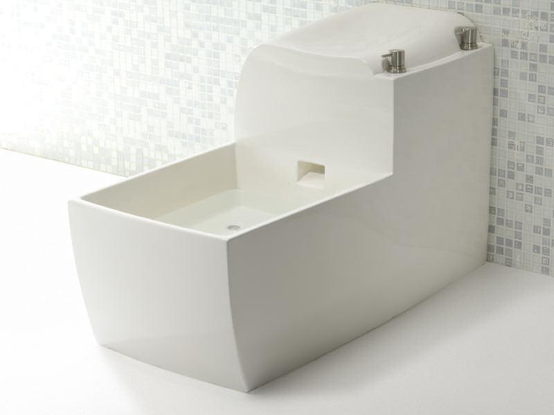 Foot basin SANI3 by A. e T. Italia