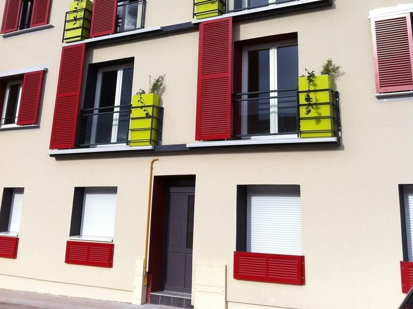 Planter Planters for building facade by IMAGE'IN